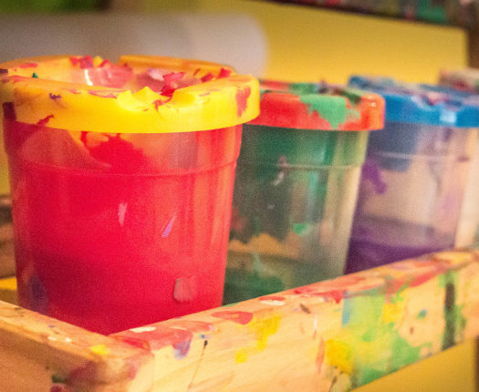 Sidekicks Child Care Centre Paint Area